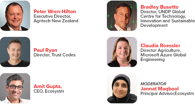 NZ Event Speakers The role of technology in food assurance