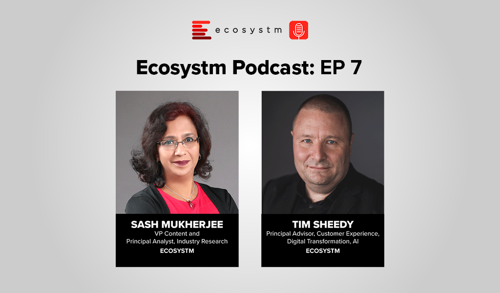 Ecosystm Podcast Episode 7 – Tim Sheedy, The rise in Conversational Commerce