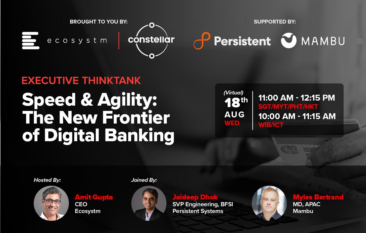Persistent Systems x Mambu - Executive ThinkTank Invite Cover 3